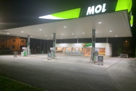 RECONSTRUCTION OF PETROL STATION MOL - KOLÍN