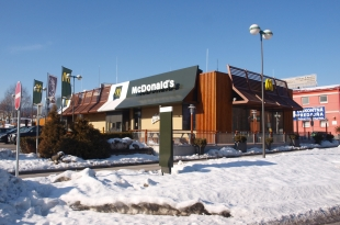 Reconstruction of the restaurant McDonalds Banská Bystrica