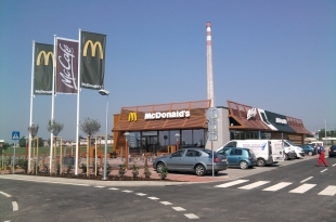 Restaurace McDonalds Trnava II