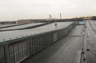 Rekonstrukce střechy tažírny TPD