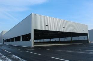 Přístřešek k výrobní hale VPC