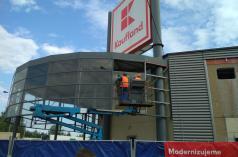 Rekonstrukce Kaufland